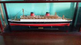 Продам модель парохода FRANCE I, ручная работа