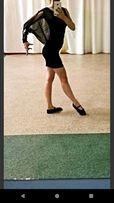 Тренировочное платье латина для бальных танцев