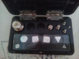 Комплект гирь Г - 4-110 (ГОСТ 7328 - 65) неполный