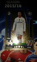 Karta limited Cristiano Ronaldo LE 1 z Champions League 2015/16