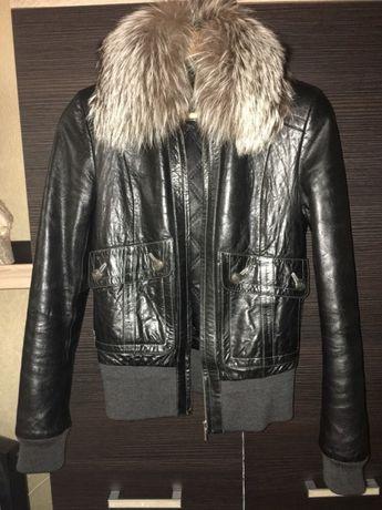 Кожаная куртка Обухов - изображение 1