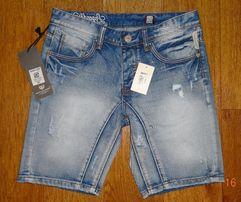 """Мужские НОВЫЕ джинсовые шорты """"BENSON & CHERRY"""""""