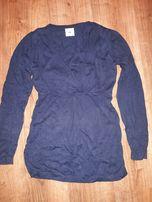 sweterek ciążowy tunika, 40 zł z wysyłką, rozmiar M