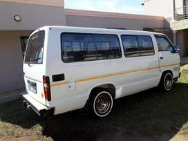 Hiace for sale 2006 model white in colour.