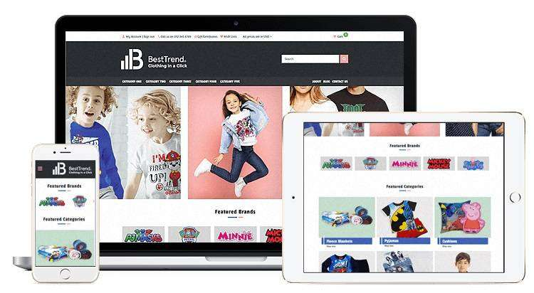 E-commerce website, Shopify, Magento and WooCommerce websites 0