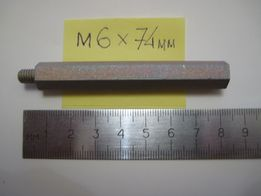 Продам стойки для монтажа печатных плат (сталь) м6-74мм/14мм/18мм