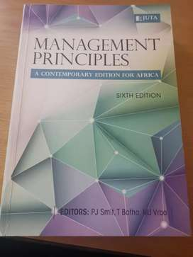 Management Principles A contemporary edition for africa 6th edition