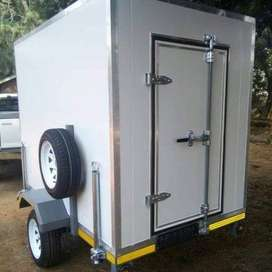 Mobile Freezer and VIP Mobile toilet for sale
