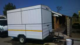 Used rolax axel trailer