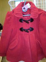 Пальто из Англии на девочку 4-5 лет