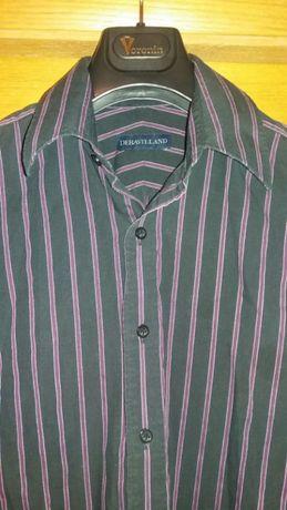 Рубашка мужская с длинным рукавом размер М (рукава на запонках)