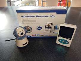 Baby wireless monitoring audio video kit for sale