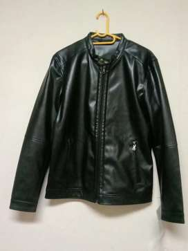 Pu leather jacket just for