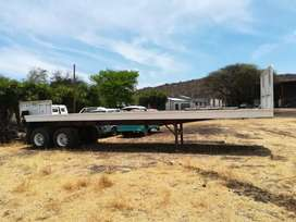 Swift 2 axle Trailer Original