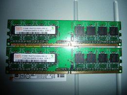 DDR2-667 2*512Mb (PC2-5300) Hynix