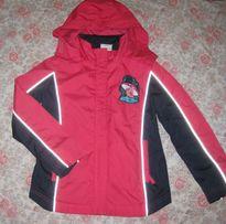 на 128 см. куртка осіння дощовик курточка тополіно