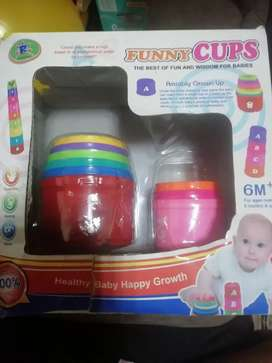 Funny cups /educational toy /negotiable