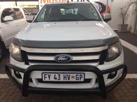 2012 Ford Ranger 2.2 6speed XLS 4x4 95000km full service history