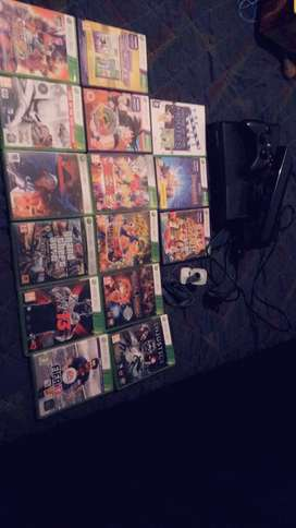 Xbox 360, Kinect,15 games and camera accessory