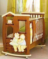 Премиум манеж-кроватка с матрасом+комод: Baby expert (Италия)