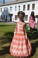 Детское платье выпускное