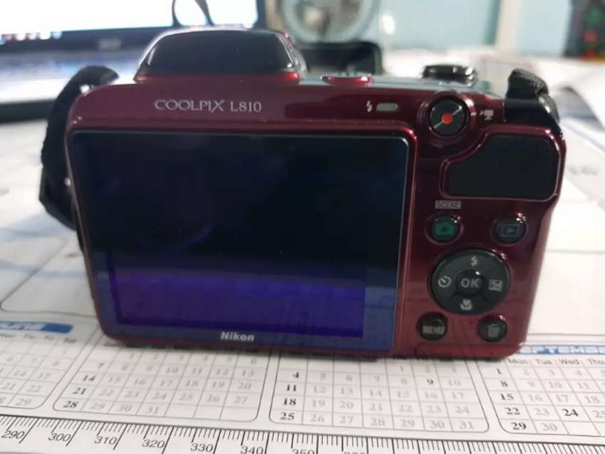 "Nikon COOLPIX L810 Bridge camera 16.1MP 1/2.3"" CCD 4608 x 3456pixels 0"