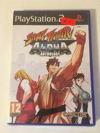 Street Fighter Alpha PS2 Nowy! Folia Dla kolekcjonera