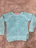 Sweter ażurkowy dla dziewczynki