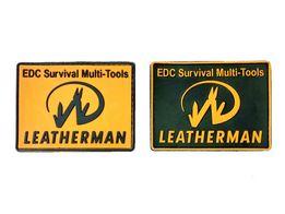 Фирменная 3D нашивка Leatherman Patch