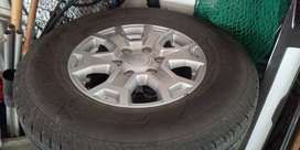 Ford Ranger Rims with tyres
