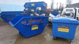 Wywóz odpadów odpady MALWA śmieci gruz gruzu kontener kontenery TANIO