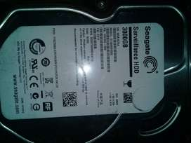Seagate Hard drive Surveillance HDD and SV35 one year old