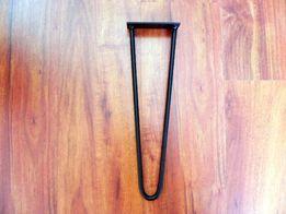 Metalowe nogi , hairpin legs 71 cm - 2 pręty
