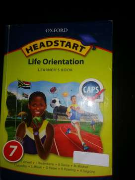Grade 7  & 6 text books for sale