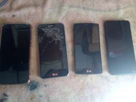 LG android phones selling as scrap parts R400 each
