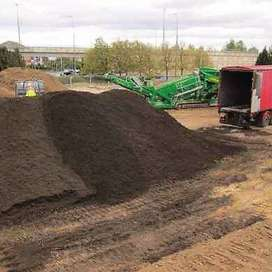 Topsoil and manure