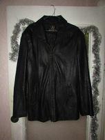 Мужская кожаная куртка BEIDER, демисезонная, 48 размер