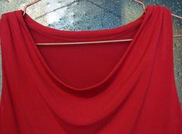 Платье красное, размер 42, футляр