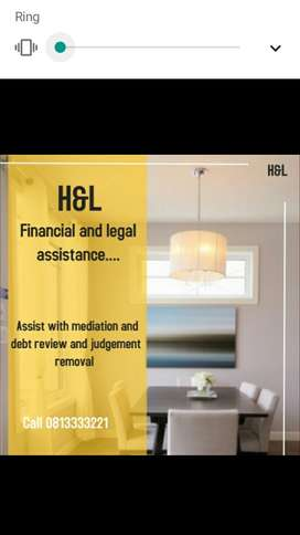 Debt Review and Judgement removal and mediation program