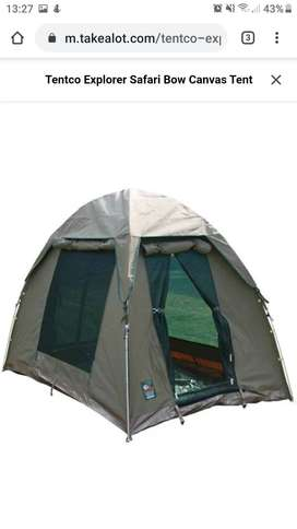 Tentco Explorer Safari Bow Canvas Tent
