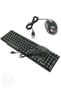Brand new wired keyboard and mouse 0
