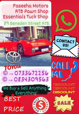 Cars/Bakkies/Trailers/Bicycles/Fridges/Sofas & MUCH MORE
