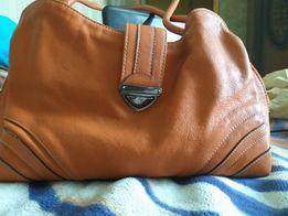 Кожанная женская сумка