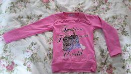 Регланчик розового цвета 92-98