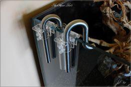 Uchwyty Glass rurki szkło Acyl