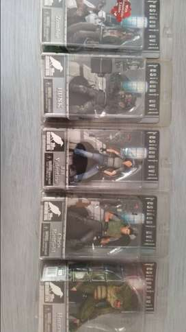 Resident evil 10th anniversary Capcom Neca 2006 5 figure collection