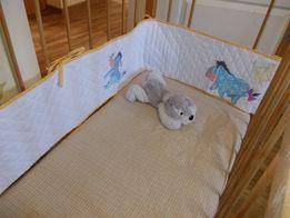 Детский мягкий бортик на кроватку