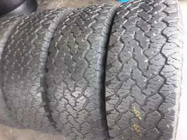 4× 265/65/17 RAPTOR A/T tyres for sale