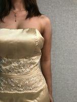 Продам свадебное (выпускное) платье, цвет эйвори