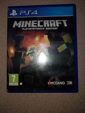 Minecraft for the ps4.
